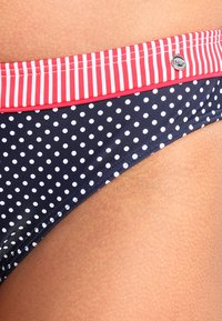 s.Oliver - PANTS NORMAL - Bikinibroekje - navy/white - 3