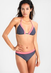 s.Oliver - PANTS NORMAL - Bikinibroekje - navy/white