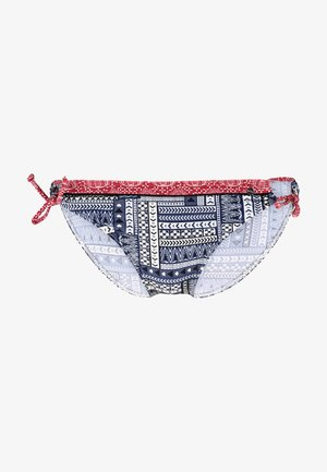 PANT LOOP - Bikinibroekje - blue/red