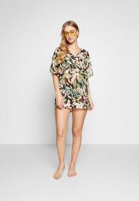 s.Oliver - HIGHWAIST PANTS - Bikini bottoms - black - 1