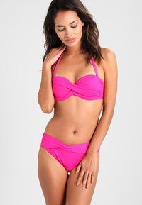 s.Oliver - PUSH UPS BANDEAU - Bikini top - pink - 1