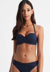 s.Oliver - PUSH UPS BANDEAU - Bikini top - navy - 0