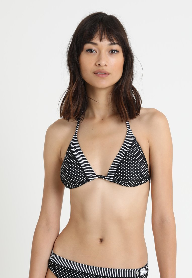 s.Oliver - TRIANGLE - Bikinitop - black