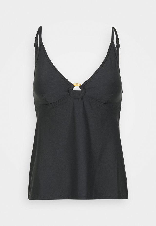 TANKINI - Bikinitoppe - black