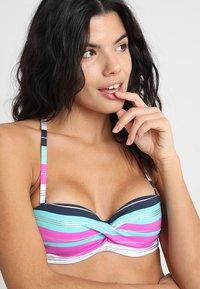 s.Oliver - CANNES WIRE BANDEAU SET - Bikini - fuchsia - 4