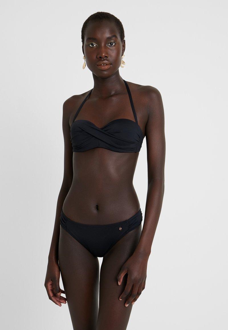 s.Oliver - WIREBANDEAU SET - Bikini - black