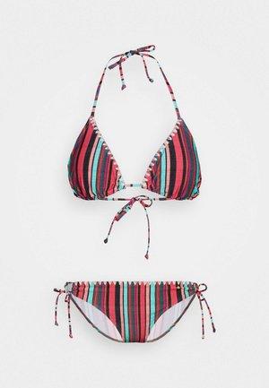 TRIANGLE SET - Bikinier - pink