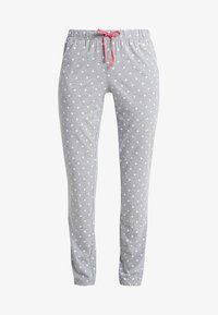 s.Oliver - FASHION DREAMS PANTS - Bas de pyjama - grey/white - 3
