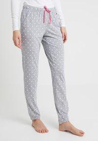 s.Oliver - FASHION DREAMS PANTS - Bas de pyjama - grey/white - 0