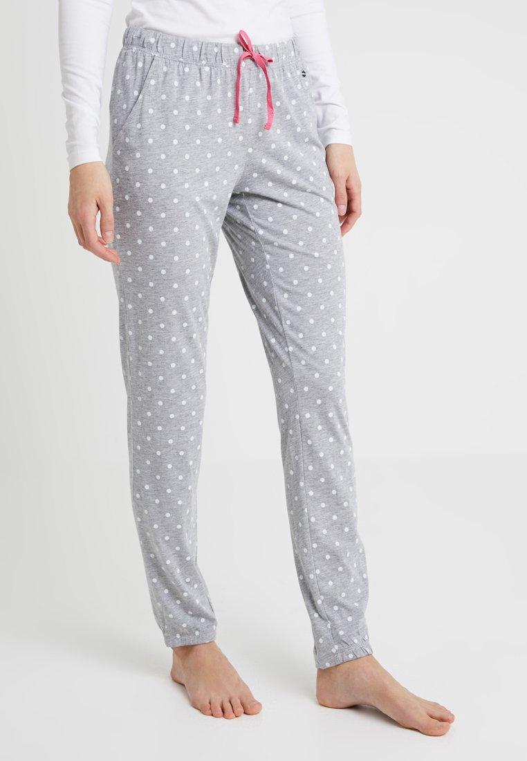 s.Oliver - FASHION DREAMS PANTS - Bas de pyjama - grey/white