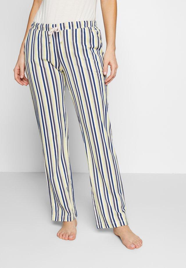 PANTS - Spodnie od piżamy - navy/gelb
