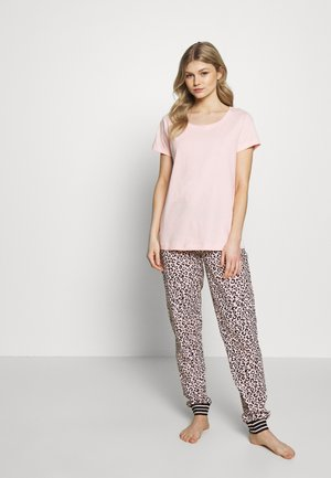 SET - Pyjama - white/rose