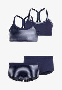 s.Oliver - 2 PACK - Underwear set - blau - 0
