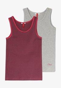 s.Oliver - 2 PACK - Unterhemd/-shirt - grey - 3
