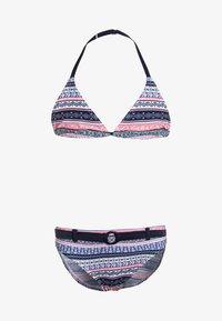 s.Oliver - TRIANGEL - Bikini - blue/rose - 0