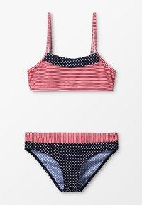 s.Oliver - BUSTIER SET - Bikini - navy/red - 0