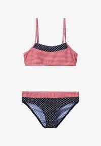 s.Oliver - BUSTIER SET - Bikini - navy/red - 3