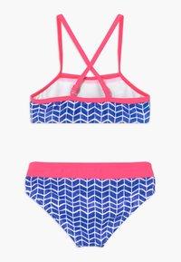 s.Oliver - SET - Bikini - blue/white - 1
