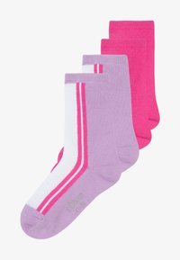 s.Oliver - ONLINE JUNIOR FASHION SOCKS 4 PACK - Ponožky - neon pink - 2