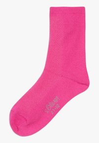 s.Oliver - ONLINE JUNIOR FASHION SOCKS 4 PACK - Ponožky - neon pink - 1