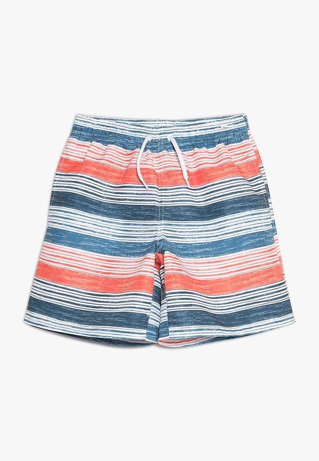 Zwemshorts - blue/orane