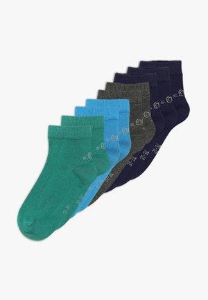 ONLINE JUNIOR QUARTER 9 PACK - Ponožky - blue aster