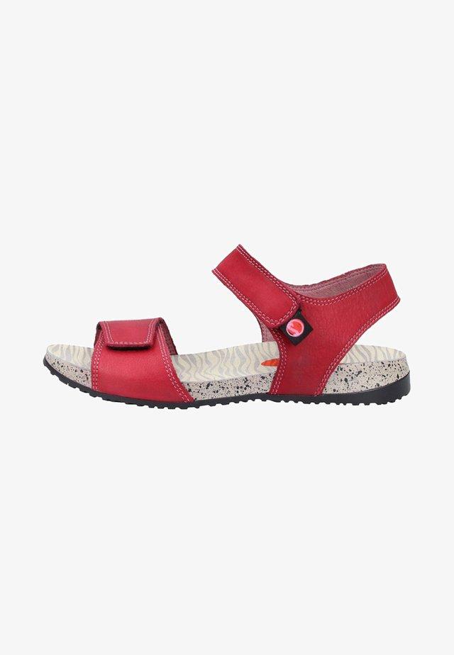 Sandały trekkingowe - red