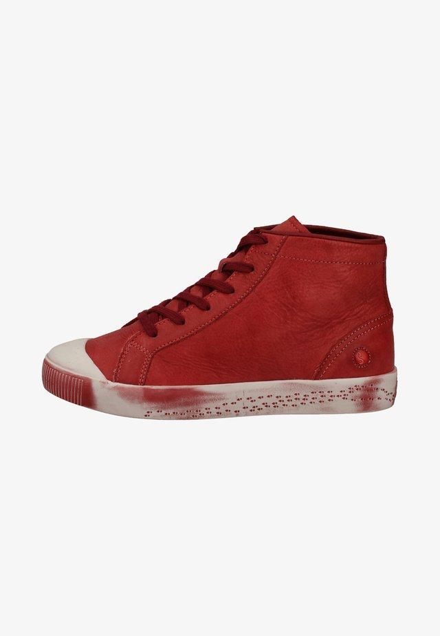 Sneakers hoog - scarlet
