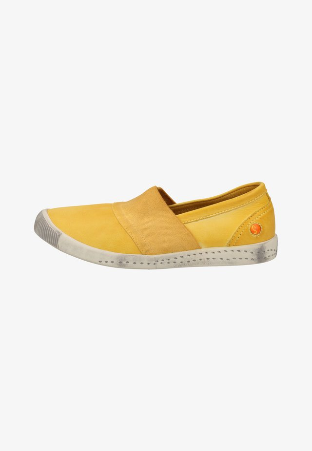 Loafers - yellow