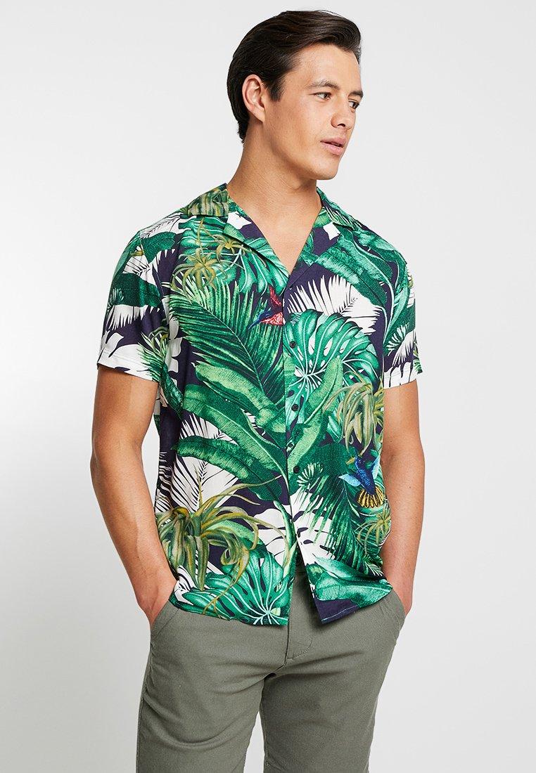 Solid - BRANDO CUBA - Shirt - white