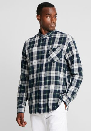 SHIRT ARVID CHECK - Camisa - deep forest