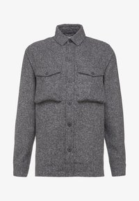 Solid - ANTON - Skjorta - dark grey melange - 4