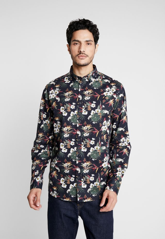 SHIRT TYLER FLOWER - Skjorte - black