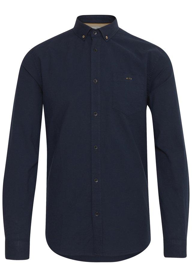 JUAN LS BD WASHED - Shirt - black