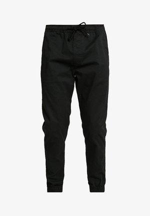 TRUC CUFF - Pantalones - black