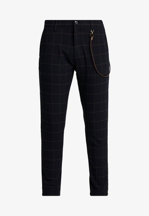 SLIM TRAVIS CROPPED - Pantaloni - insignia blue