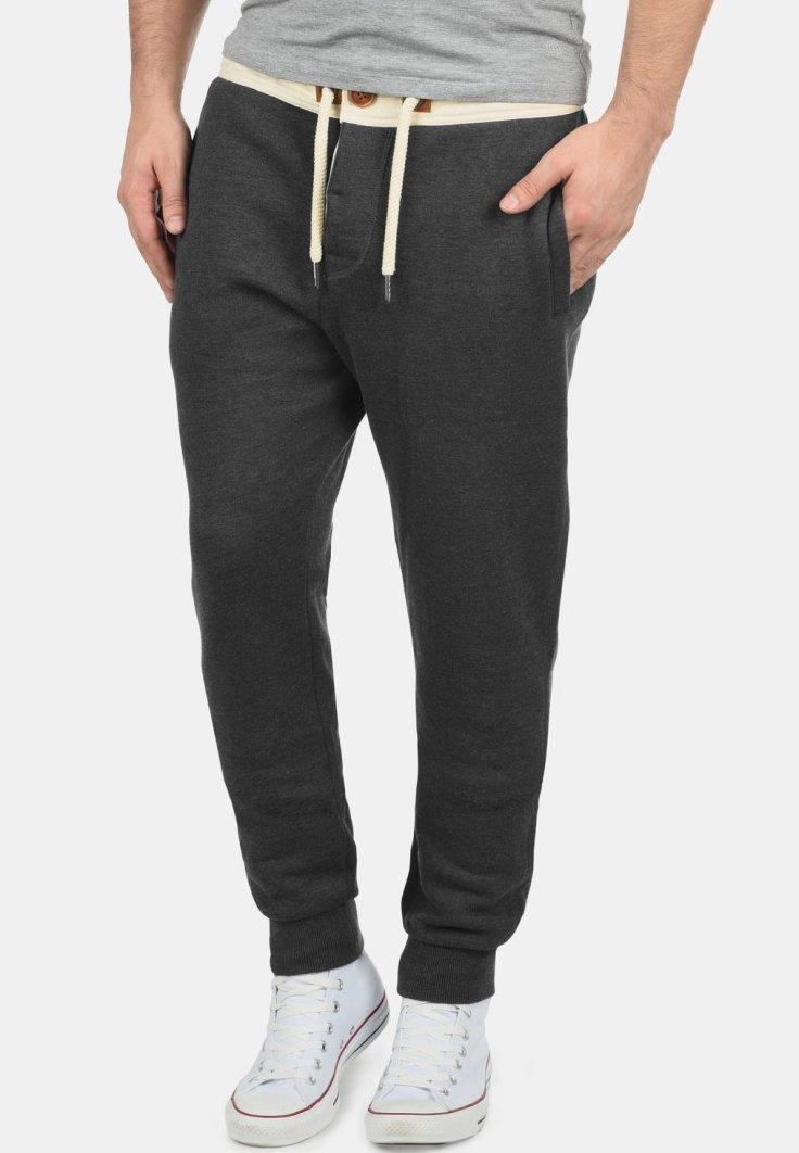 Solid - Tracksuit bottoms - dark grey