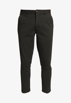 PANTS DAVE BARRO - Pantalon classique - black
