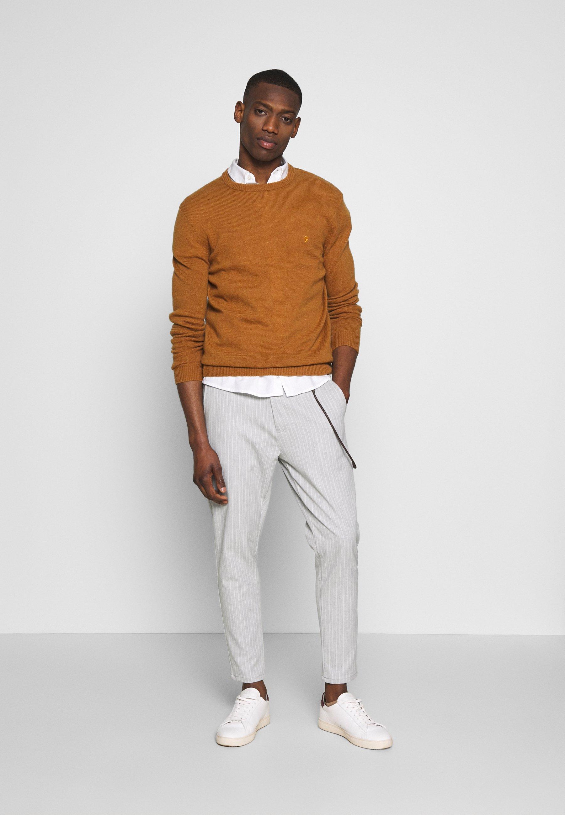 Solid Pants Jim - Tygbyxor Fog Grey