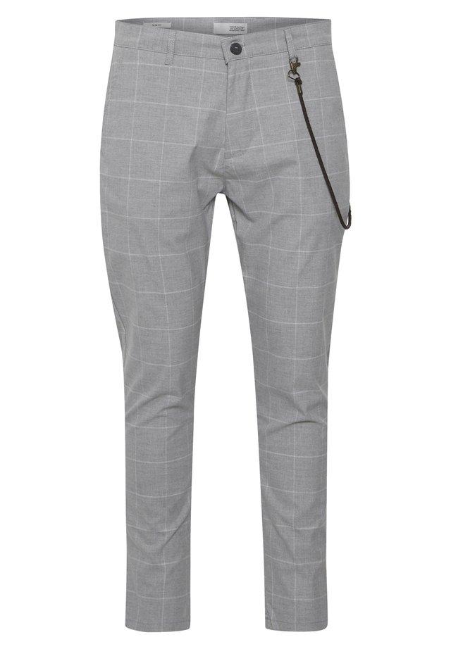 TRAVIS - Pantaloni - grey mel
