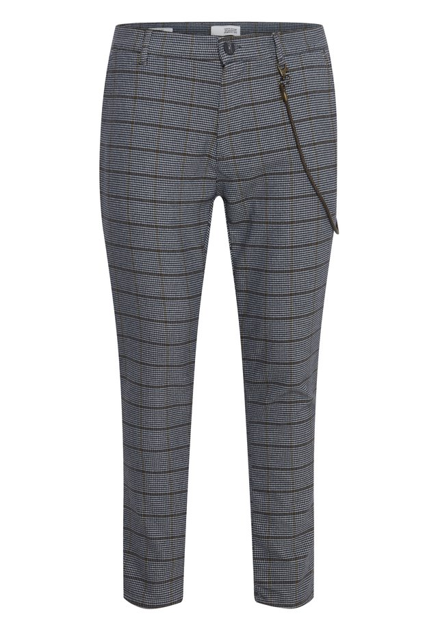 TRAVIS - Trousers - med grey m