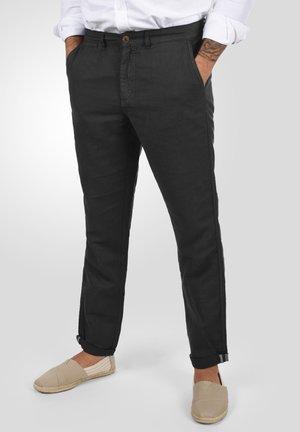 LORAN - Trousers - black