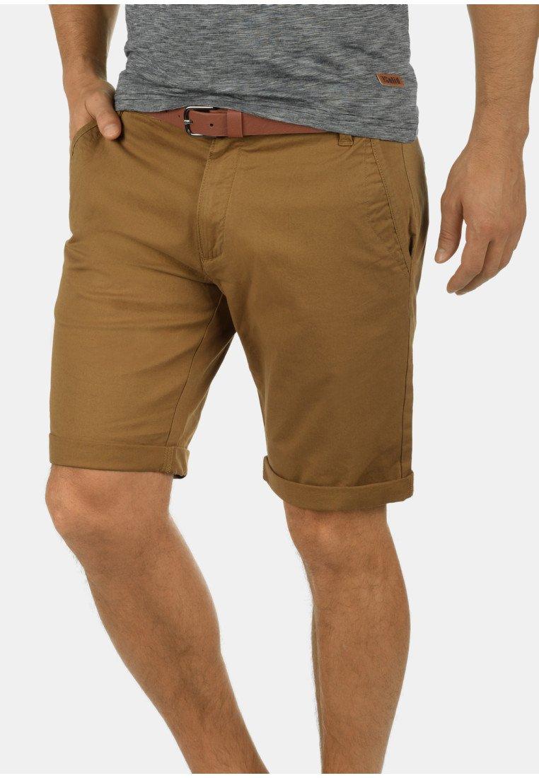 Solid - CHINOSHORTS MONTIJO - Shorts - braun