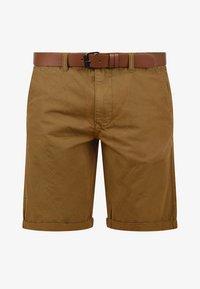 Solid - CHINOSHORTS MONTIJO - Shorts - braun - 3