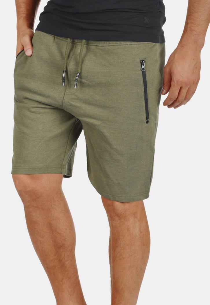 Solid - TARAS - Shorts - green melange