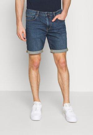 REGULAR RYDER - Jeans Shorts - blue denim