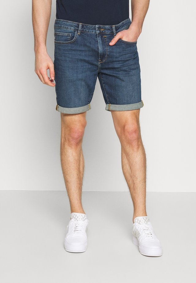 REGULAR RYDER - Farkkushortsit - blue denim
