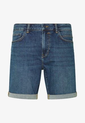 REGULAR RYDER - Denim shorts - blue denim