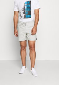 Solid - GUBI ELASTIC - Shorts - light grey - 0