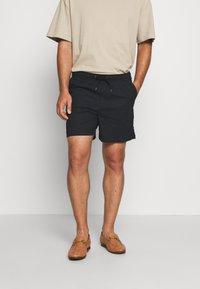 Solid - GUBI ELASTIC - Shorts - black - 0